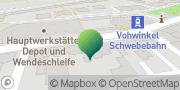 Karte GLS PaketShop Wuppertal, Deutschland