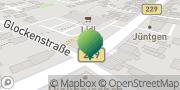 Karte GLS PaketShop Solingen, Deutschland
