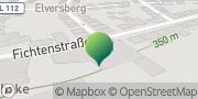 Karte GLS PaketShop Spiesen-Elversberg, Deutschland