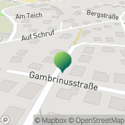 Karte HUK-COBURG Versicherungen Bausparen Vertrauensfrau Petra Kropf Mendig, Deutschland