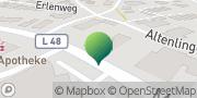 Karte GLS PaketShop Lingen (Ems), Deutschland