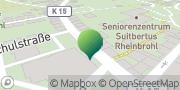 Karte GLS PaketShop Rheinbrohl, Deutschland