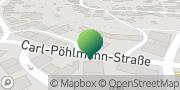 Karte GLS PaketShop Zweibrücken, Deutschland