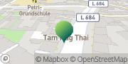 Karte GLS PaketShop Bad Muskau, Deutschland