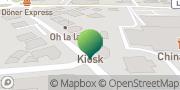 Karte GLS PaketShop Unna, Deutschland