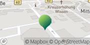 Karte GLS PaketShop Wissen, Deutschland
