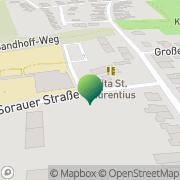 Karte Stadtteilbüro Hamm Norden, Katholischer Sozialdienst Hamm, Deutschland