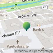 Karte Movere Hamm, Deutschland