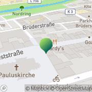 Karte Debeka Versichern Bausparen Geschäftsstelle Hamm, Deutschland