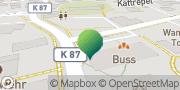 Karte GLS PaketShop Wangerland, Deutschland