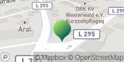 Karte GLS PaketShop Bad Marienberg (Westerwald), Deutschland