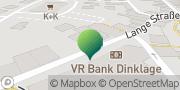 Karte GLS PaketShop Dinklage, Deutschland