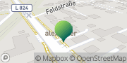 Karte GLS PaketShop Lucka, Deutschland