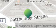 Karte GLS PaketShop Rudolstadt, Deutschland
