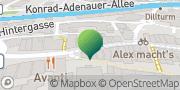 Karte GLS PaketShop Dillenburg, Deutschland