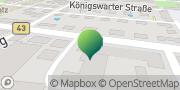 Karte GLS PaketShop Gustavsburg, Deutschland