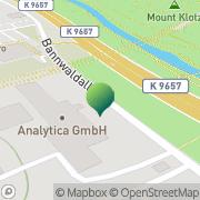 Karte Stadtbrief Private Briefzustellung Karlsruhe, Deutschland