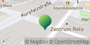 Karte GLS PaketShop Mannheim, Deutschland