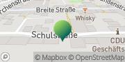 Karte GLS PaketShop Brake (Unterweser), Deutschland