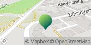 Karte GLS PaketShop Hockenheim, Deutschland