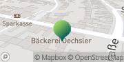 Karte GLS PaketShop Waghäusel, Deutschland