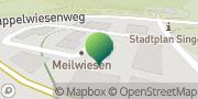 Karte GLS PaketShop Remchingen, Deutschland