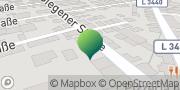 Karte GLS PaketShop Viernheim, Deutschland