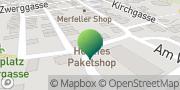 Karte GLS PaketShop Mendig, Deutschland