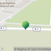 Karte Trans OWL Speditionsbetriebsmittel Bielefeld, Deutschland