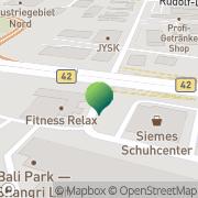 Karte West-Air-Courier Weiterstadt, Deutschland