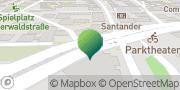 Karte GLS PaketShop Bensheim, Deutschland