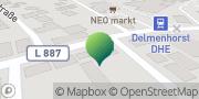 Karte GLS PaketShop Delmenhorst, Deutschland