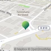 Karte Sprint Kurier Service Frankfurt am Main, Deutschland