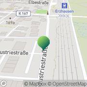 Karte Bund Freikirchlicher Pfingstgemeinden KdöR Erzhausen, Deutschland