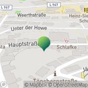Karte Postagentur Oerlinghausen Postdienste Oerlinghausen, Deutschland