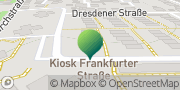 Karte GLS PaketShop Bernstadt, Deutschland