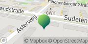 Karte GLS PaketShop Coburg, Deutschland