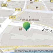 Karte Deutsche Post Geldautomat Innenstadt Pforzheim, Deutschland