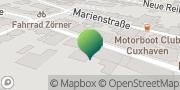Karte GLS PaketShop Cuxhaven, Deutschland