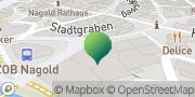 Karte GLS PaketShop Sachsenheim, Deutschland