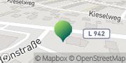 Karte GLS PaketShop Augustdorf, Deutschland