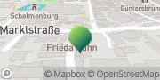Karte GLS PaketShop Werdau, Deutschland