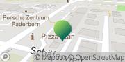 Karte GLS PaketShop Mehren, Deutschland