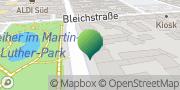 Karte GLS PaketShop Offenbach am Main, Deutschland