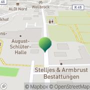 Karte Kneipp-Verein Osterholz-Scharmbeck Osterholz-Scharmbeck, Deutschland