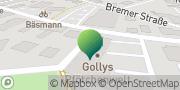 Karte GLS PaketShop Beverstedt, Deutschland