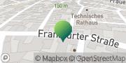 Karte GLS PaketShop Westhausen, Deutschland