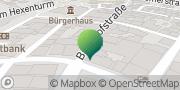 Karte GLS PaketShop Kirchhain, Deutschland