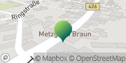 Karte GLS PaketShop Breuberg, Deutschland