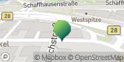 Karte GLS PaketShop Tübingen, Deutschland